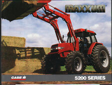 "CASE IH ""MAXXUM 5200 Series"" Tractor Brochure Leaflet"