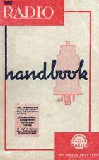 THE RADIO HANDBOOK - Editors of Radio - 5th edition (1938) - CD