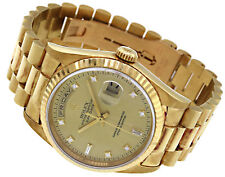 Adult Solid Gold Case Wristwatches