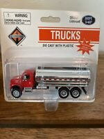 HO SCALE BOLEY INTERNATIONAL DIECAST 4009-16 Red Tanker Truck