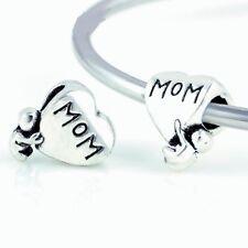 New Authentic European Silver Plated Pandora Pendant Charms Beads Bracelets 925