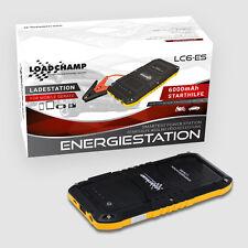 LOADCHAMP Starthilfe 400A Booster Jump Starter Energiestation Powerbank 6000mAh