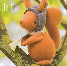 THRIFT SQUIRREL - Sewing Craft PATTERN - Soft Toy Felt Doll Bear Rabbit Bird