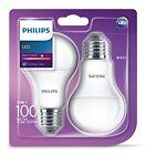 Confezione Da 2 Philips LED Ghiacciata E27 Edison 100w Bianco Caldo