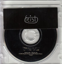 """FEIST Let It Die Album Sampler 2004 French 4-track promo only 3"""" CD"""
