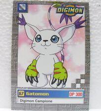 """DIGIMON TRADING CARDS - """"GATOMON"""" 9/32 - 2a SERIE GIALLA"""