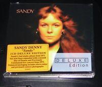 SANDY DENNY SANDY  DELUXE EDITION DOPPEL CD SCHNELLER VERSAND NEU & OVP