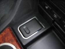 D BMW E39 Chrom Rahmen für Zigarettenanzünder - Edelstahl poliert