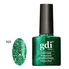 Diamond Glitter Nail GEL Polish by GDI Nails London UV LED Soak 8ml Post K23 - Jungle Frenzy
