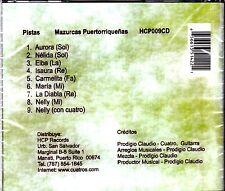 CUATRO - PISTAS PARA EL CUATRISTAS MAZURCAS - CD
