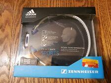 Sennheiser PX 685i White Sports In Ear Neckband Adidas Headphones 3.5mm NEW