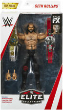 "WWE Elite Seth Rollins ""Top Talent 2018"" Mattel Toy Wrestling Action Figure RARE"