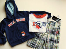 NEW Boys ROCAWEAR Jacket Shirt Shorts Set 2T Clothes Outfit