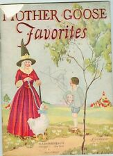 Mother Goose Favorites – Undated Linennear book