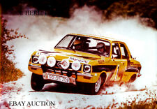 Opel Ascona A Rally 1974 and Rohrl & Berger – winners Portugal Rally 1974 photo