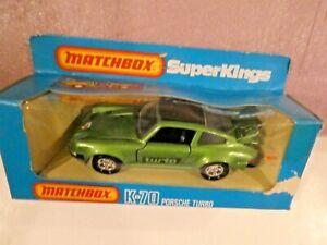 VINTAGFE K-70 Super Kings Porsche Turbo with Original Box