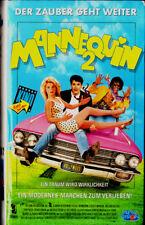 """VHS - """" MANNEQUIN 2 - Der Zauber geht weiter """" (1990) - Kristy Swanson"""