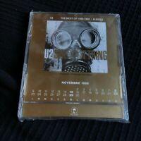 U2 very Rare ITALIAN ONLY promo countdown calendar in a CD case Anton Corbijn
