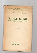il vaticano - potenza mondiale - joseph berhart -  1941