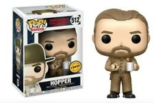 Chase Variant Limited Edition Funko POP Television: Stranger Things Hopper #512