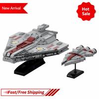 MOC Acclamator Assault Ship Arquiten Light Cruiser Kid Building Blocks Gift Toys