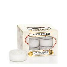 Velas decorativas blancos Yankee Candle para el hogar