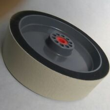 "1200G - 8"" x 2"" Diamond ""XTRA"" Wide Soft Wheel Polishing Lapidary Glass Grinding"