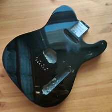 More details for b-stock guitar body basswood tele telecaster style black gloss 44mm deep #4