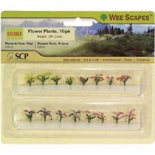 """Wee Scapes 00303, Flower Plants, 3/8"""" 12pk"""