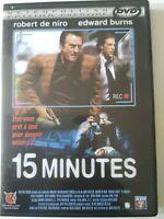 15 minutes [Edition Prestige] // DVD NEUF