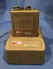 Motorola Minitor Ii Vhf 2 Freq. Pager 154.1300 154.1900 with Battery & Charger