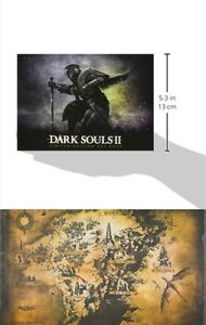 Dark Souls II 2 ART BOOK Hardcover & Map Limited Edition XBox/Playstation NEW