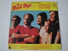 THE BEACH BOYS ENDLESS SUMMER VINYL LP 1981 UK MUSIC FOR PLEASURE STEREO ENGLAND