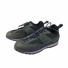Vasque Mens Vibram Vintage Hiking Shoes Sneakers Green Purple Black Size 8.5