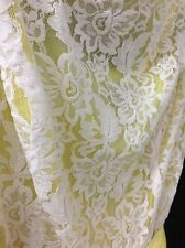 Yellow/White Jessica Howard Dress Size 12