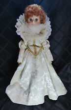 """Queen Elizabeth EffanBee Doll, Women of the Ages Doll, 1983, 13"""" tall"""