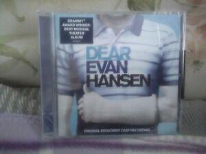 Dear Evan Hansen CD (2017) Broadway Theatre Show Soundtrack  - New - Free UK P&P