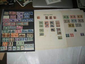 South West Africa 2 Stock Pages of Fine Mint+147 M+U on Album Pages