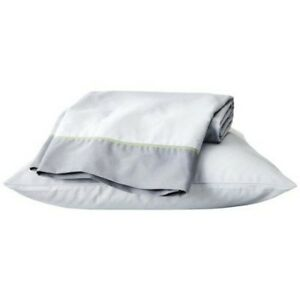 Easy Care Dorm Sheet Set - Twin XL - Gray Accent