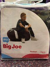 My Big Joe Kids' Football Brown Bean Bag Chair Cover Fill It Yourself New