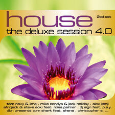 CD House The Deluxe Session 4.0 von Various Artists 2CDs
