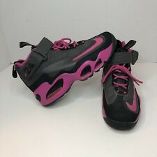 Nike Air Griffey Max 1 GS Retro Sneakers Black Pink 552983-006 Youth Size 6Y