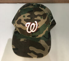 Camouflage Washington Nationals Mens Baseball Hat / Cap  🔥🔥🔥