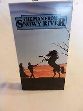 The Man From Snowy River (VHS, 1994) Kirk Douglas, Jack Thompson (FJ)