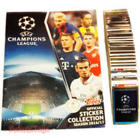UEFA Champions League 2016 - 2017 TOPPS Complete Sticker Collection Album