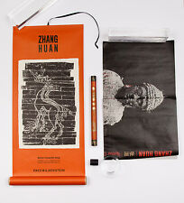 Zhang Huan, Promo Scroll and Poster 2010