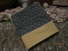 COUNTRY COTTAGE LOVELY GARDEN OF BEAUTIFUL COLORFUL FLOWERS PILLOWCASE - NEW
