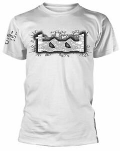 Official Tool T Shirt Double Image Logo White Classic Rock Metal Band Tee New