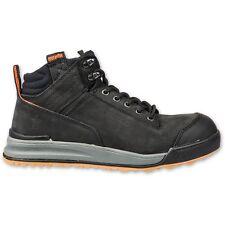 Scruffs Switchback Safety Hiker Work BOOTS Steel Toe Leather Black 3x Socks Uk10