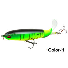 🐠Whopper Plopper Topwater Floating Fishing Lures Rotating Tail Crankbaits H#🐠